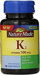 Best vitamin supplements - vitamin K