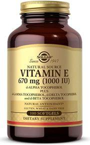Vitamin E - Antioxidant supplement